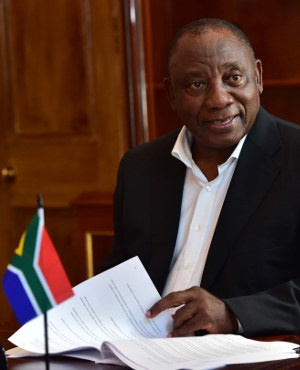 President Cyril Ramaphosa putting final touches to