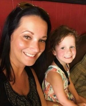 Shanann Watts and Bella. (Photo via Facebook)