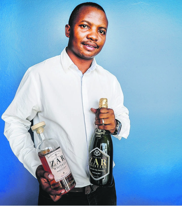FOUND HIS NICHE Pule Malahlela established his own liquor company. Picture: Mpumelelo Buthelezi