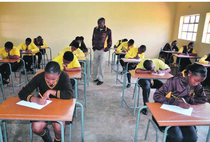 Education departments urged to reconsider using the June exam results for university admission for pupils in Grade 12 this year because of disruptions caused by Covid-19. Picture: Yuri Madonsela