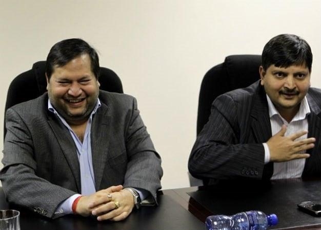 Ajay and Atul Gupta. (Gallo Images, file)