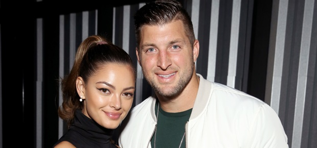 Demi-Leigh Nel-Peters, Tim Tebow (Photo: Getty)