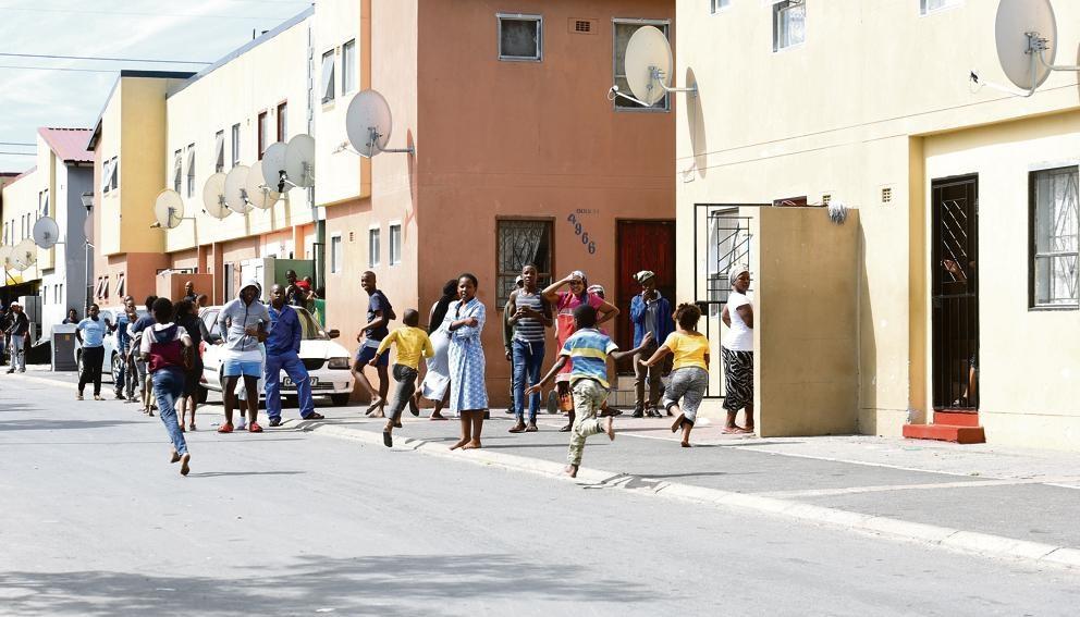 Inwoners van Langa in Kaapstad het nie by die reël