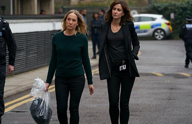 Joanne Froggatt and Katherine Kelly in Liar season