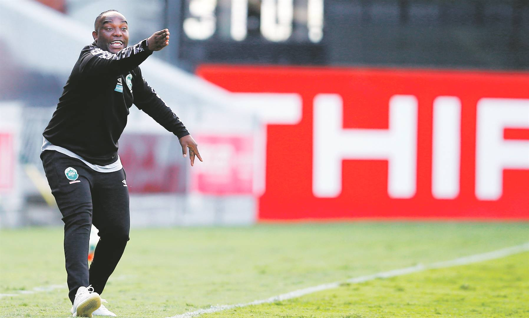 contender Benni McCarthy has led AmaZulu to the second spot on the DStv Premiership log PHOTO: Steve Haag / BackpagePix