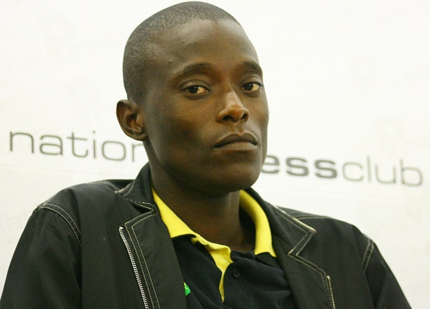 Sindiso Magaqa is seen during a press conference. (Sibusiso Msibi, Gallo Images, Sowetan, file)