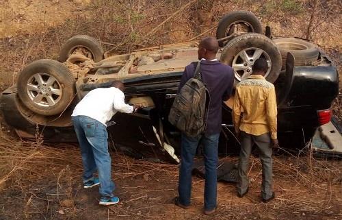 ahmed ogembe,auto crash