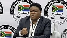 WATCH LIVE: Fikile Mbalula at state capture inquiry