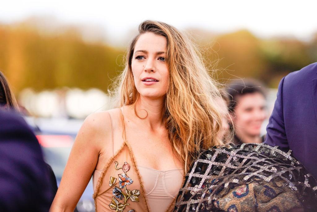 PARIS, FRANCE - SEPTEMBER 24: Blake Lively is see