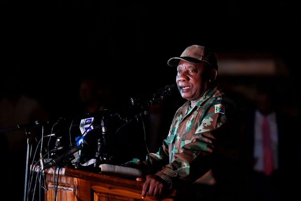Pres. Cyril Ramaphosa. Foto: Gallo Images/Getty Images