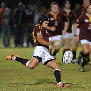 Andre Smith during his playing days for Maties (Gallo Images)