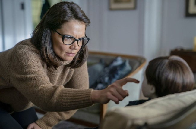 Katie Holmes in the newest installment of Brahms