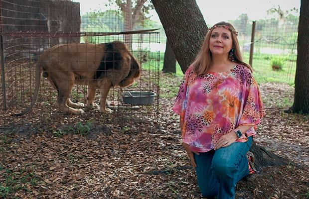 Carol Baskin in Tiger King: Murder, Mayhem and Mad
