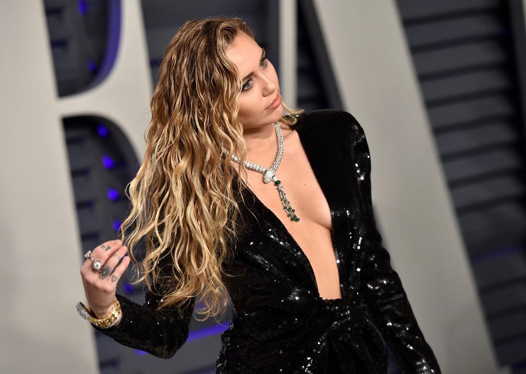 En Miley Cyrus… Foto: Getty Images