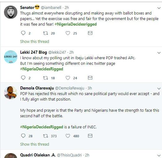 was Nigeria election rigged