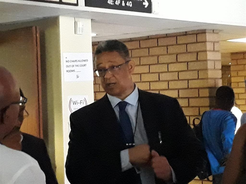 Robert McBride at the North Gauteng High Court in Pretoria. Photo: Christiaan du Plessis