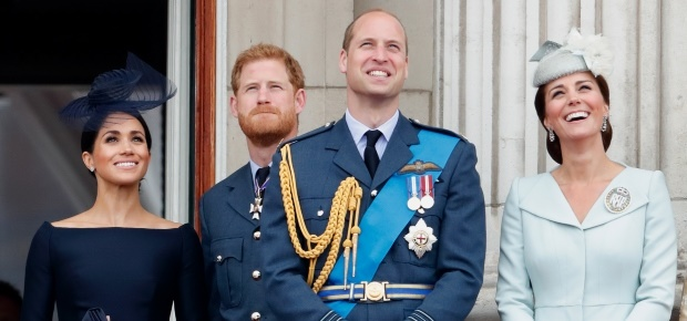 Meghan, Prince Harry, Prince William and Kate