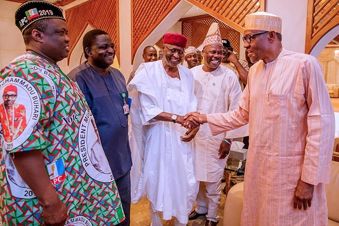 Muhammadu Buhari, winner of the 2019 presidential
