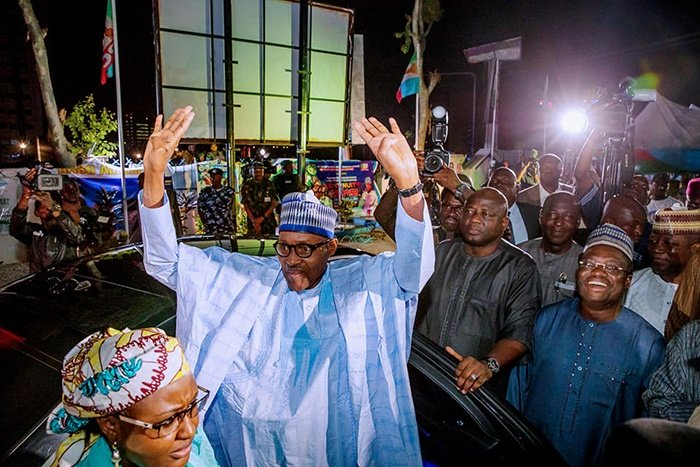 Muhammadu Buhari was re-elected for a second term