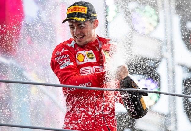 Ferrari driver, Charles Leclerc. Image: Getty Images