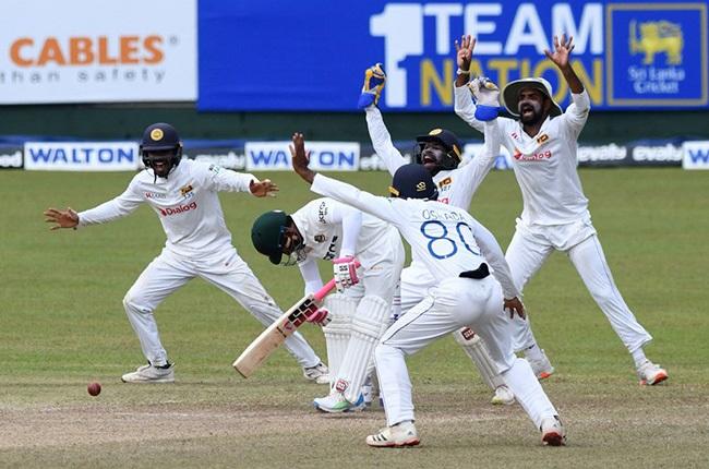 Sri Lanka v Bangladesh. (ICC - Twitter)