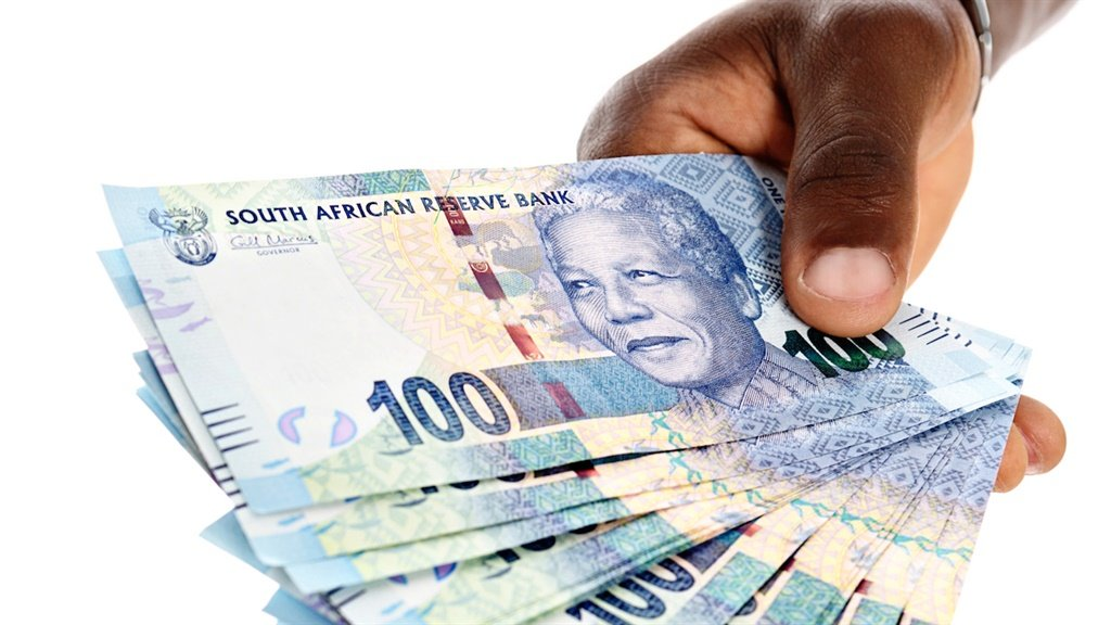 'My wife received a large amount of money'