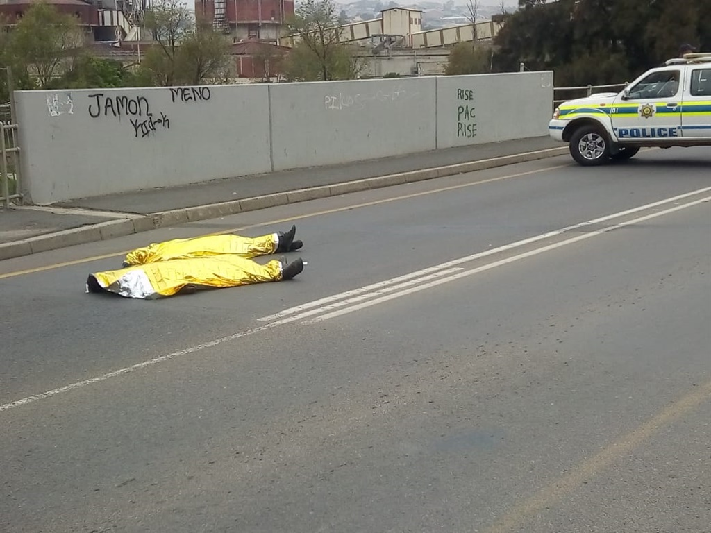 Two protesters who died near Caledon.