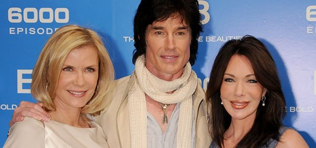 Katherine Kelly Lang, Ronn Moss and Hunter Tylo. (Getty Images)