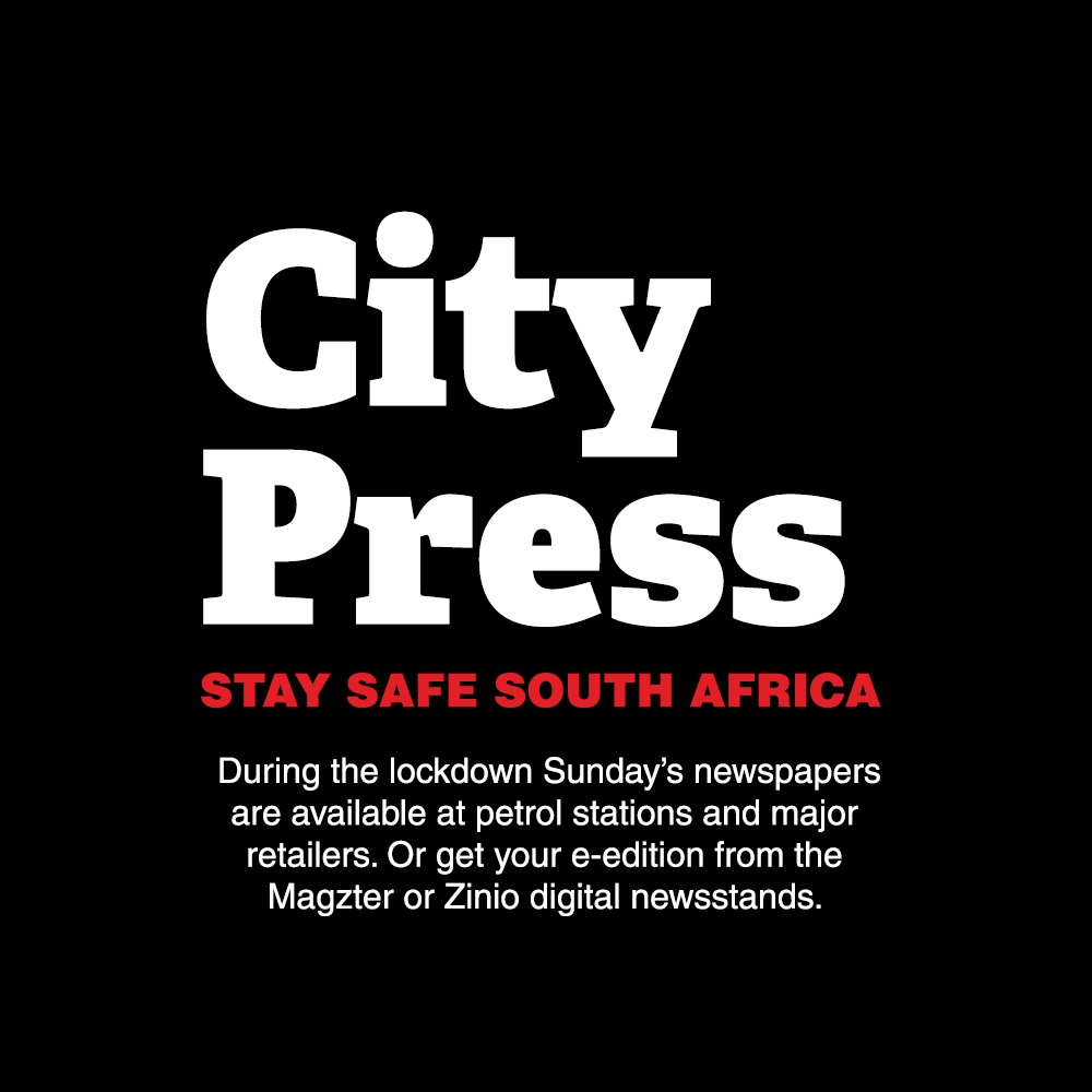 City Press is still available during the lockdown.