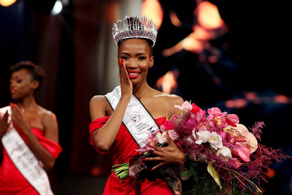 Miss SA 2021 Lalela Mswane.