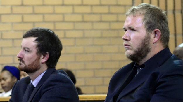 Farm workers Pieter Doorewaard and Phillip Schutte were acquitted.