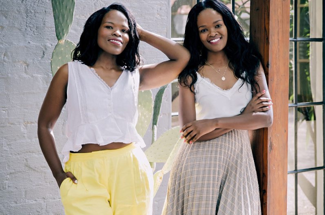 Morongwe and Michelle Mokone, founders of the home decor design venture Mo's Crib.