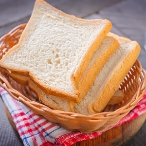 White bread a source of carbohydrates