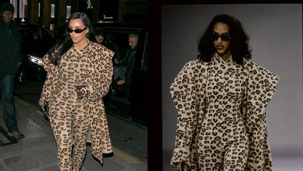 Kim Kardashian in Alaia