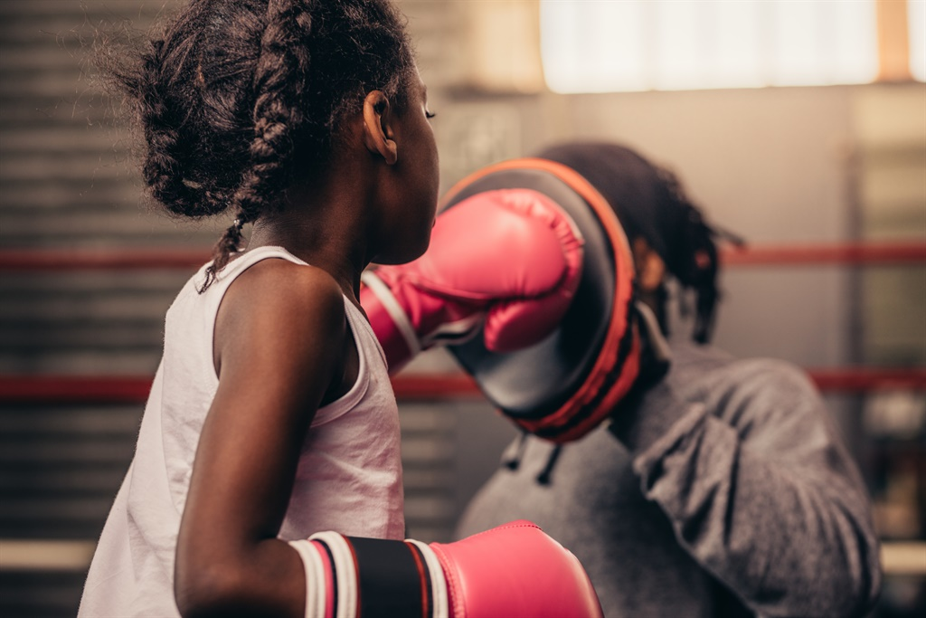 This 7-year-old Nigerian boxer wants to be a world