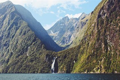 New Zealand, the Land of the Long White Cloud