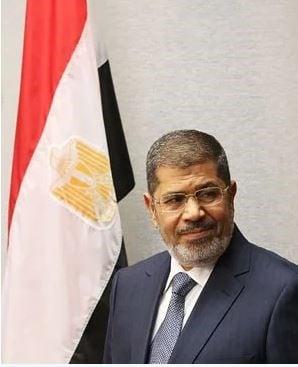Former Egyptian president Mohammed Morsi. (File, AFP)