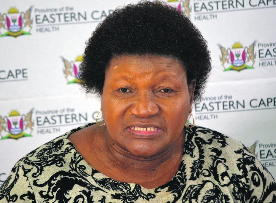 Former Eastern Cape Health MEC, Sindiswa Gomba.