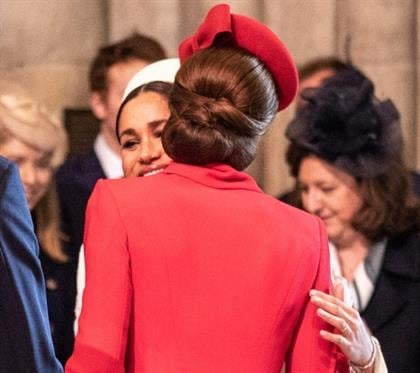 Duchess of Cambridge and Duchess of Sussex