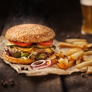 Fast food has a negative effect on heart health.