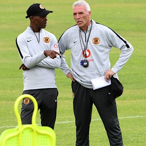 Arthur Zwane and Ernst MIddendorp