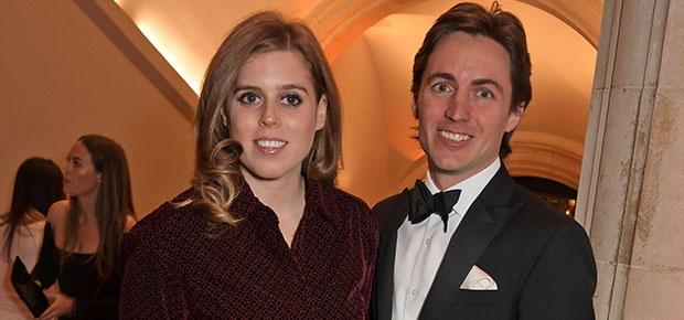 Princess Beatrice and Edoardo Mapelli Mozzi. (Photo: Getty Images)