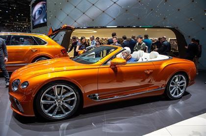 GENEVA, SWITZERLAND - MARCH 05: Mercedes-Benz CLA