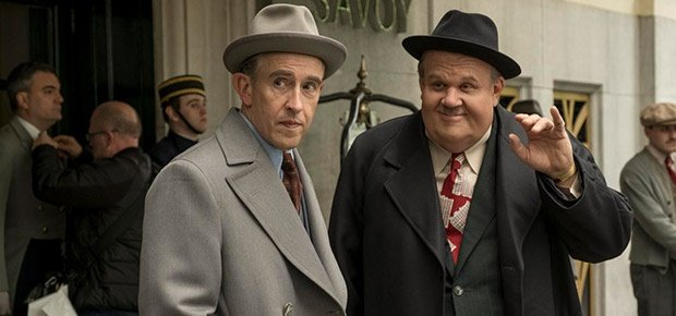 John C Reilly and Steve Coogan in 'Stan & Ollie.'