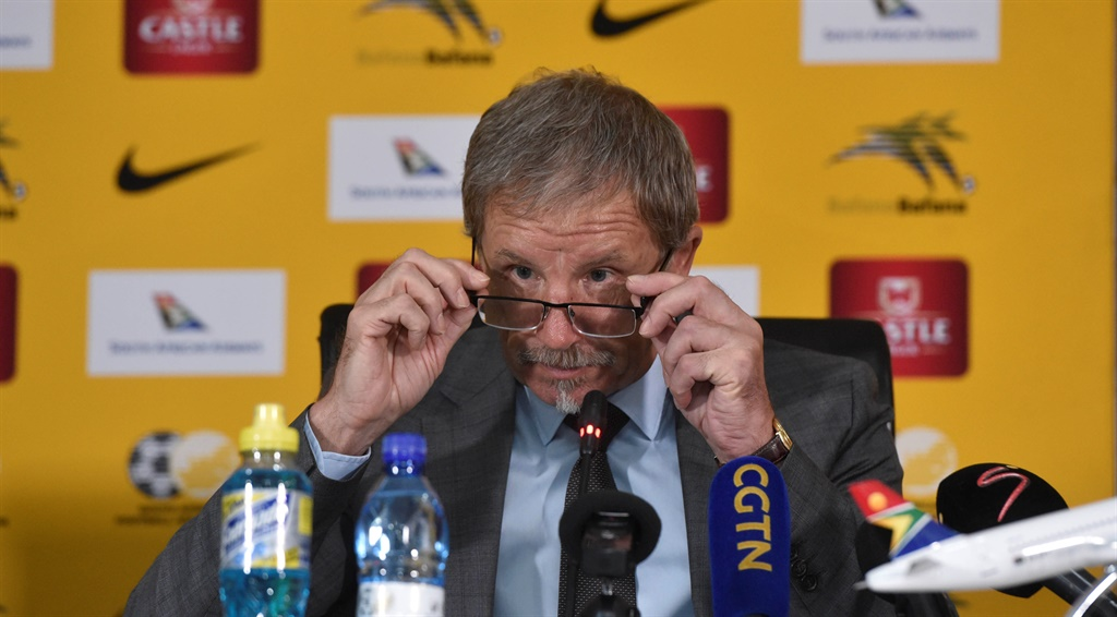 Stuart Baxter head coach of South Africa during th