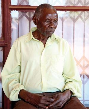 Mkhatshane George Manganyi lost his lotto winnings. (Lubabalo Lesolle)