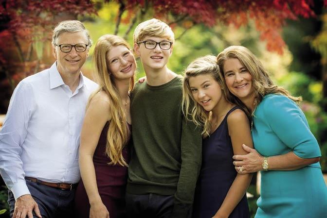 Bill Gates en sy gesin