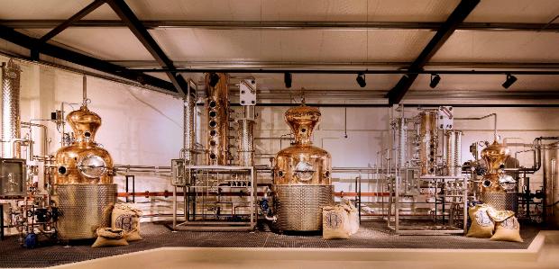 Hayman's gin distillery