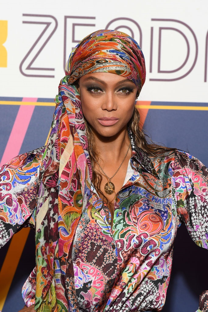 PARIS, FRANCE - MARCH 02: Tyra Banks attends the T