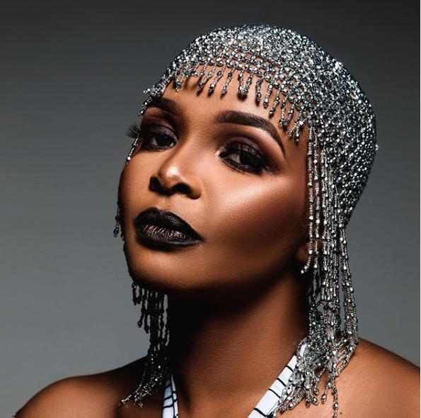 Singer and song writer Simphiwe Dana.